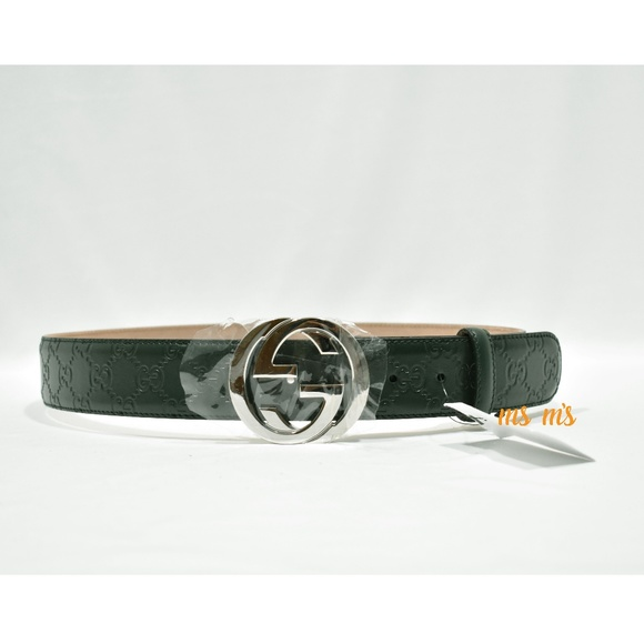250521bcaa7 NWT Gucci Signature belt 85 34